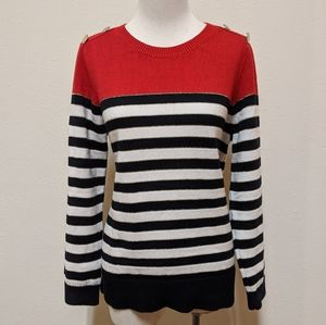 3for$20 charterclub large striped sweater